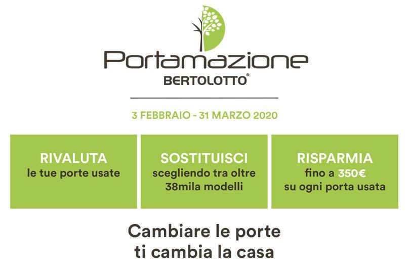 Porte Bertolotto – Campagna Portamazione 2020